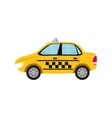 Taxi cab transport vector image