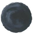 abstract watercolor dark black hand painted dots vector image