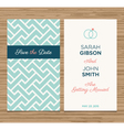 wedding card pattern green 02 vector image