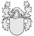 aristocratic emblem No31 vector image