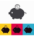 moneybox vector image