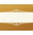 Banner islam ethnic design Gold Invitation vector image vector image