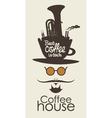 Coffee man vector image vector image