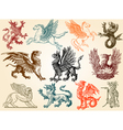 mythical animals vector image