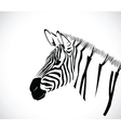 zebra 2 vector image