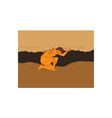 Samoan Atlas Holding Sky from Earth Drawing vector image