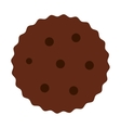 Cookies chocolate sweet dessert vector image