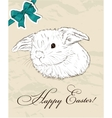 Vintage poster about Easter vector image