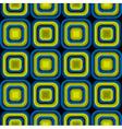 Bulge Squares Optical Seamless Pattern vector image