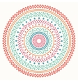 Ethnic mandala Tribal hand drawn line geometric vector image
