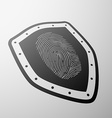 fingerprint Stock vector image