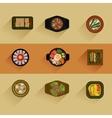 Food Korean food icon vector image