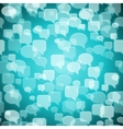 social contact background vector image