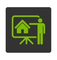 Realtor icon vector image