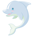 Swimming Dolphin vector image vector image