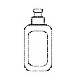 cream bottle isolated vector image