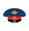 Russia police cap vector image