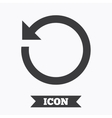 Repeat icon Refresh symbol Loop sign vector image