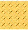 seamless polka dots colorful vector image vector image