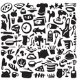 Cookery icons set vector image vector image