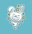 sticker emoji emoticon emotion walk hang out vector image