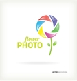 Symbol flower photo vector image