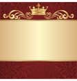 royal background vector image vector image