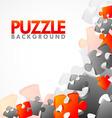 corner puzzle vector image