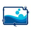plumbing services design vector image