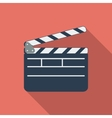 Director clapperboard icon vector image