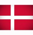 National flag of Denmark vector image