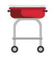 barbecue grill isolated vector image