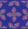 Hand drawn ornament pattern geometric vector image
