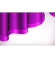 Violet invitation background vector image