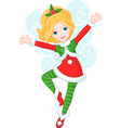 fairy Christmas vector image