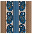 Abstract vintage ornament pattern vector image