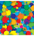 colorful circles vector image