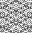 china style seamless pattern seashell vector image