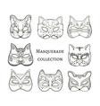 Masquerade vector image vector image
