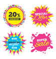 20 percent discount sign icon sale symbol vector image