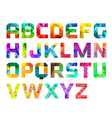 Colorful Alphabet Logo vector image vector image