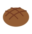 bread bakery food icon vector image