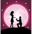 Engagement vector image