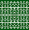 seamless - green oriental grille vector image
