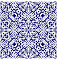 seamless pattern with ethnic ornaments with curls vector image
