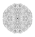 Mandala ornament abstract pattern for your design vector image vector image