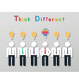 idea leadership business concept vector image