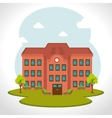 School traditional education vector image