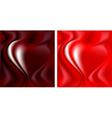 Silk heart vector image