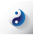 Ying Yang sign vector image vector image